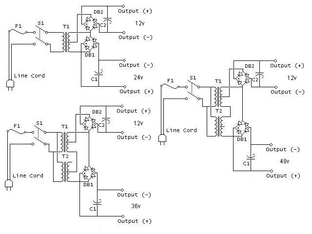Power Supply Scematics